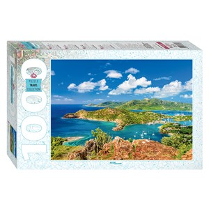 """Step Puzzle (79139) - """"Shirley Heights, Antigua"""" - 1000 pieces puzzle"""