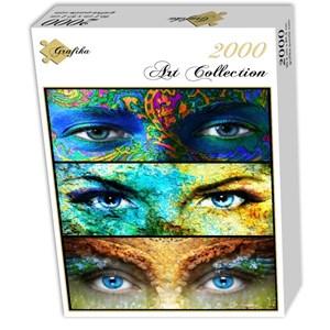 """Grafika (00878) - """"Women Eyes"""" - 2000 pieces puzzle"""