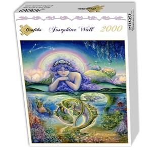 "Grafika (00807) - Josephine Wall: ""Pisces"" - 2000 pieces puzzle"