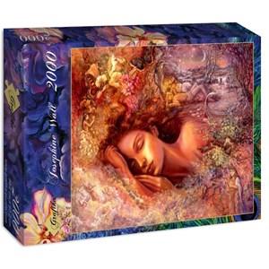 "Grafika (00891) - Josephine Wall: ""Psyche's Dreams"" - 2000 pieces puzzle"