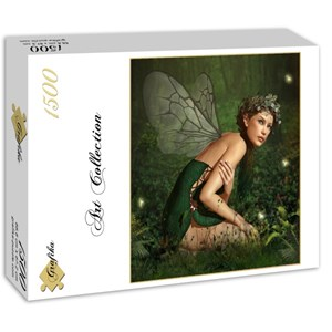 """Grafika (00792) - """"Nymph in the Forest"""" - 1500 pieces puzzle"""