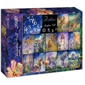 "Grafika (00809) - ""Zodiac Signs"" - 2000 pieces puzzle"