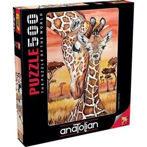 """Anatolian (3615) - Lynn Bean: """"Giraffe"""" - 500 pieces puzzle"""