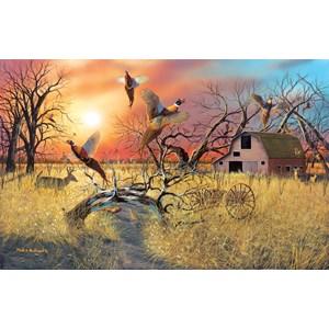 """SunsOut (17930) - """"Pheasant Flight"""" - 1000 pieces puzzle"""