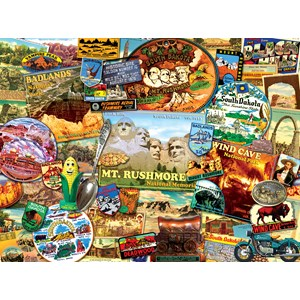 "SunsOut (70076) - Kate Ward Thacker: ""South Dakota"" - 1000 pieces puzzle"