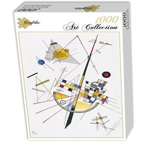 "Grafika (00632) - Vassily Kandinsky: ""Delicate Tension, 1923"" - 1000 pieces puzzle"