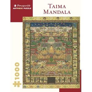"""Pomegranate (aa1069) - """"Taima Mandala"""" - 1000 pieces puzzle"""