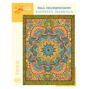 "Pomegranate (aa1046) - Paul Heussenstamm: ""Tapestry Mandala"" - 1000 pieces puzzle"