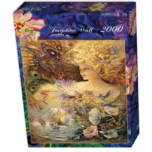 "Grafika (00902) - Josephine Wall: ""Crystal of Enchantment"" - 2000 pieces puzzle"