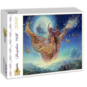 "Grafika (01107) - Josephine Wall: ""Gypsy Moth"" - 2000 pieces puzzle"