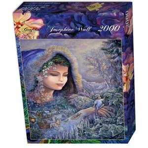 "Grafika (01111) - Josephine Wall: ""Spirit of Winter"" - 2000 pieces puzzle"