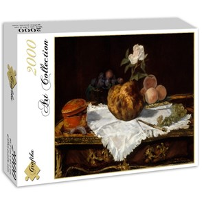 "Grafika (01126) - Edouard Manet: ""The Brioche, 1870"" - 2000 pieces puzzle"