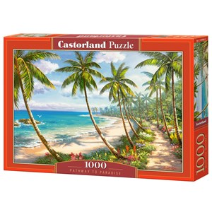 "Castorland (C-104666) - ""Pathway to Paradise"" - 1000 pieces puzzle"