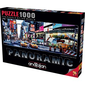 "Anatolian (1059) - Larry Hersberger: ""Times Square"" - 1000 pieces puzzle"
