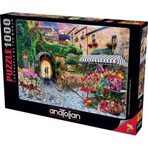 "Anatolian (1066) - Jason Taylor: ""The Flower Market"" - 1000 pieces puzzle"