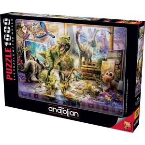 "Anatolian (1067) - Jan Patrik Krasny: ""Dino Toys Come Alive"" - 1000 pieces puzzle"