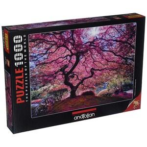 "Anatolian (1037) - ""Pink Tree"" - 1000 pieces puzzle"