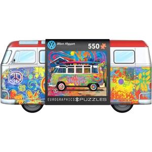 """Eurographics (8551-5561) - """"VW Wave Hopper"""" - 550 pieces puzzle"""