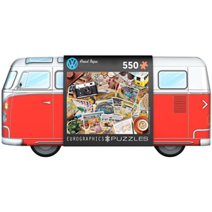 """Eurographics (8551-5576) - """"VW Road Trips"""" - 550 pieces puzzle"""