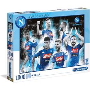 "Clementoni (39540) - ""Napoli 2020"" - 1000 pieces puzzle"