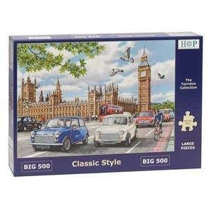 """The House of Puzzles (4883) - """"Classic Style"""" - 500 pieces puzzle"""