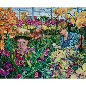 """SunsOut (44272) - Susan Brabeau: """"Orchids with Mantis"""" - 1000 pieces puzzle"""