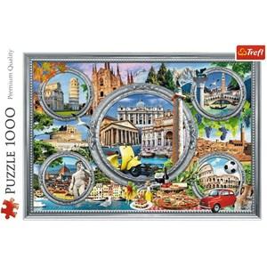 "Trefl (10585) - ""Italian Holidays"" - 1000 pieces puzzle"