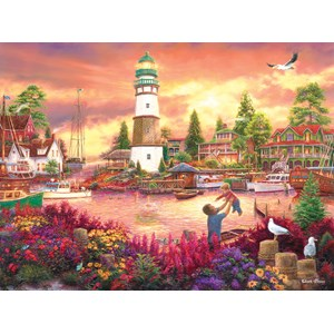 "SunsOut (33749) - Chuck Pinson: ""Love Lifted Me up"" - 1000 pieces puzzle"