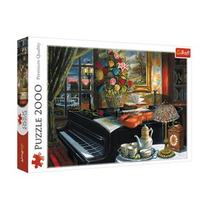 "Trefl (27112) - ""Sounds of Music"" - 2000 pieces puzzle"