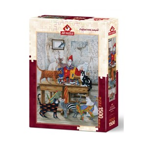 "Art Puzzle (4543) - ""My Colorful World"" - 1500 pieces puzzle"