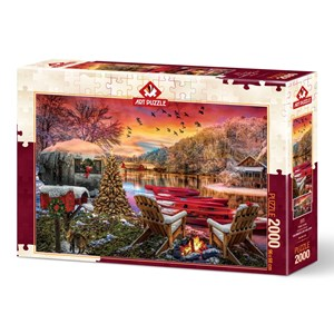 "Art Puzzle (5472) - ""Caravan Camp"" - 2000 pieces puzzle"