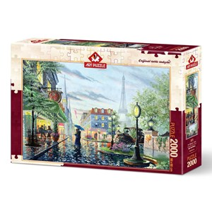 "Art Puzzle (4574) - ""Summer Rain"" - 2000 pieces puzzle"