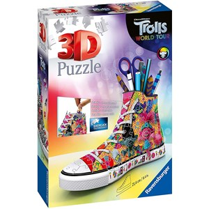 "Ravensburger (11231) - ""Trolls World Tour Sneaker"" - 108 pieces puzzle"