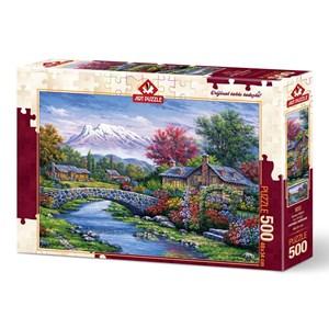 "Art Puzzle (4213) - ""Arc Bridge"" - 500 pieces puzzle"