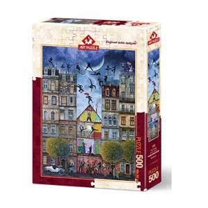 "Art Puzzle (4199) - ""Dream Street"" - 500 pieces puzzle"