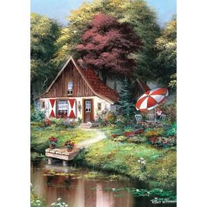 "Art Puzzle (5078) - ""Sunday Breakfast"" - 500 pieces puzzle"