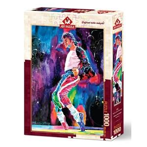 """Art Puzzle (4227) - """"Michael's Jackson Moonwalker"""" - 1000 pieces puzzle"""