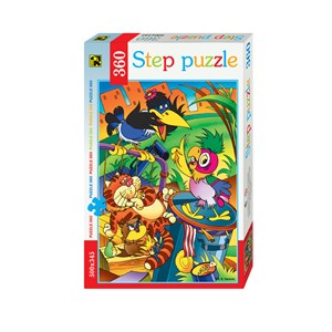 "Step Puzzle (73048) - ""Parrot Kesha"" - 360 pieces puzzle"