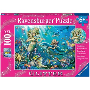 "Ravensburger (12872) - ""Disney Princess"" - 100 pieces puzzle"