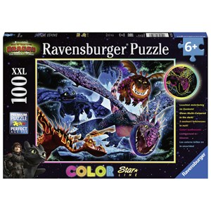 "Ravensburger (13710) - ""Dragon"" - 100 pieces puzzle"