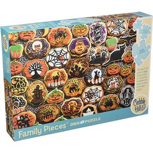 """Cobble Hill (54612) - """"Halloween Cookies"""" - 350 pieces puzzle"""