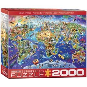 "Eurographics (8220-5343) - ""Crazy World"" - 2000 pieces puzzle"