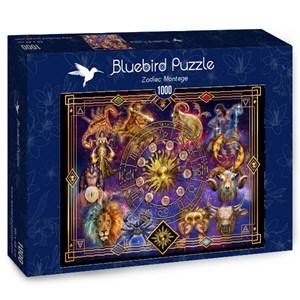 """Bluebird Puzzle (70123) - Ciro Marchetti: """"Zodiac Montage"""" - 1000 pieces puzzle"""