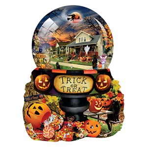 "SunsOut (96064) - Lori Schory: ""Halloween Globe"" - 1000 pieces puzzle"