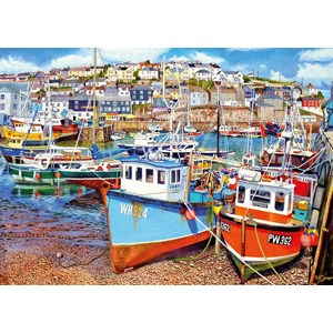 "Gibsons (G6220) - ""Mevagissey Harbour"" - 1000 pieces puzzle"