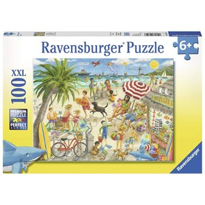 "Ravensburger (10842) - ""Sunshine at Shelly's"" - 100 pieces puzzle"