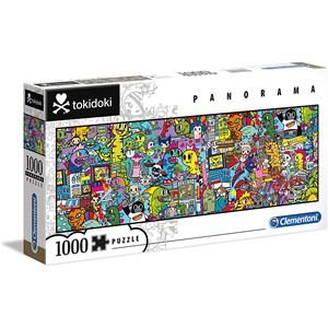 """Clementoni (39568) - """"Tokidoki"""" - 1000 pieces puzzle"""