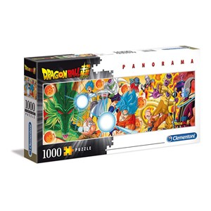 "Clementoni (39486) - ""Dragon Ball"" - 1000 pieces puzzle"