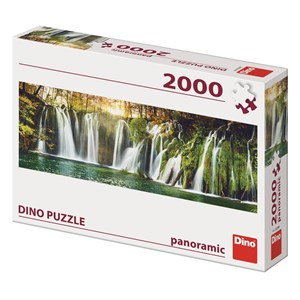 "Dino (56208) - ""Plitvice Waterfalls"" - 2000 pieces puzzle"