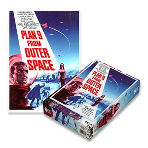 """Zee Puzzle (18530) - """"Plan 9 From Outer Space"""" - 500 pieces puzzle"""